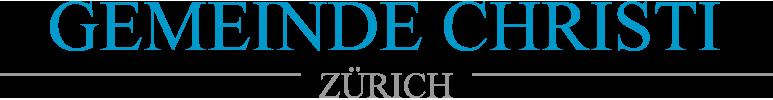 Gemeinde Christi Zürich Logo